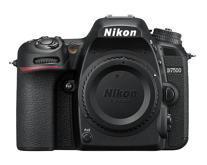 NIKON D7500 DSLR Camera - Body Only (Kit Box)