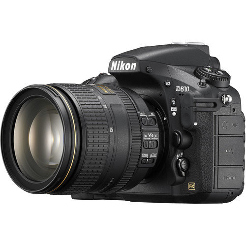 NIKON D810 DSLR Camera with AF-S NIKKOR 24-120mm f/4G ED VR Lens