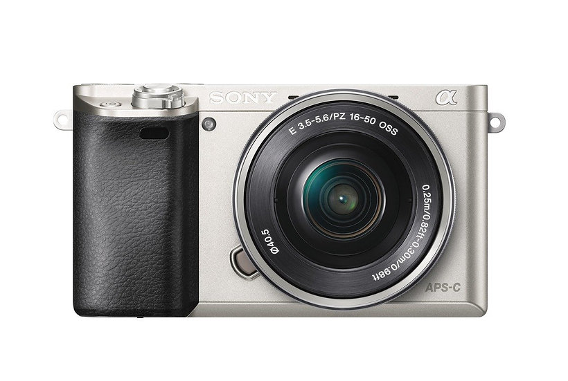 SONY Alpha A6000 Mirrorless Camera with 16-50mm Lens - Silver