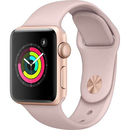 Apple Watch Series 3 38mm Gold with Pink Sand Sport Band