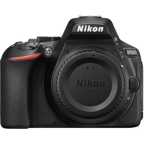 NIKON D5600 DSLR Camera Black - Body Only (Kit Box)