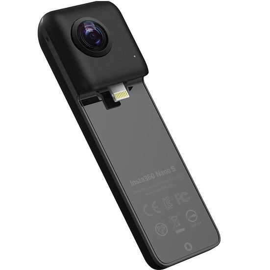 Insta360 Nano S 360° VR Video Camera for iPhone - Black