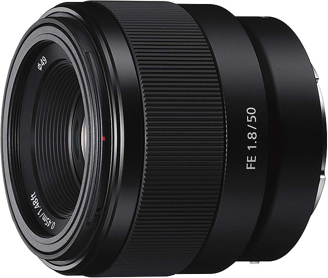Sony FE 50mm f/1.8 E-Mount Lens SEL50F18F