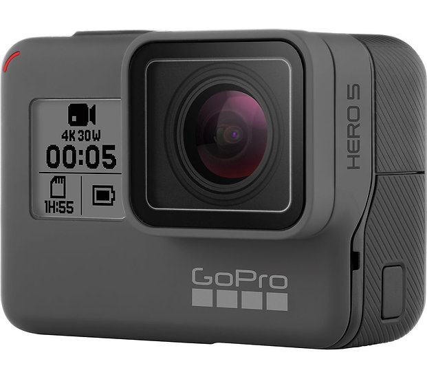 GoPro HERO5 4K Ultra HD Action Camera + Rechargeable Battery - Black
