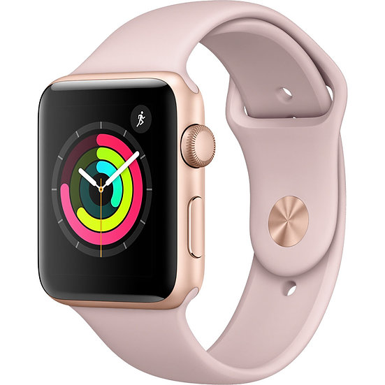 Apple Watch Series 3 42mm Gold with Pink Sand Sport Band
