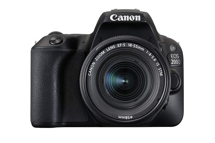 CANON EOS 200D DSLR Camera with EF-S 18-55mm f/4-5.6 IS STM Lens