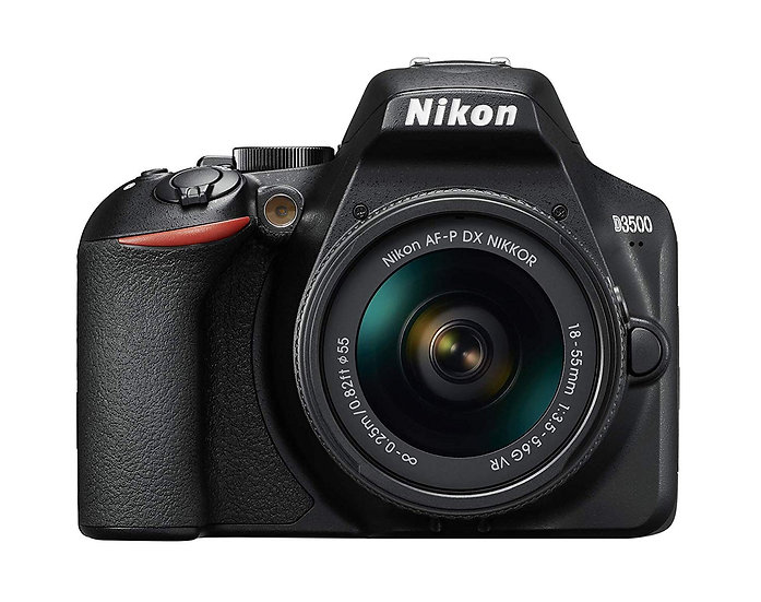 NIKON D3500 DSLR Camera with AF-P 18-55mm f/3.5-5.6G VR Lens