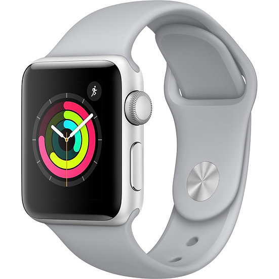 Apple Watch Series 3 38mm Silver with Fog Sport Band