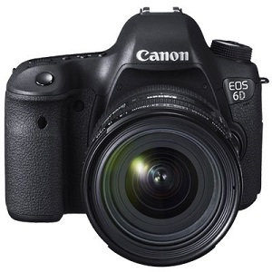 CANON EOS 6D DSLR Camera with 24-70mm f/4L IS USM Lens