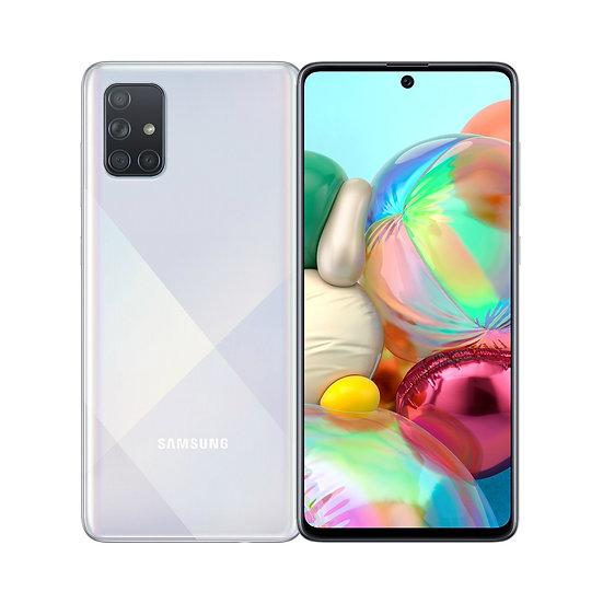 Samsung Galaxy A71 Prism Crush Silver 8GB RAM + 128GB Storage