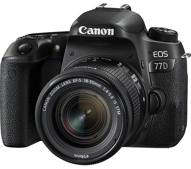 CANON EOS 77D DSLR Camera with 18-55mm f/3.5-5.6 IS STM Lens