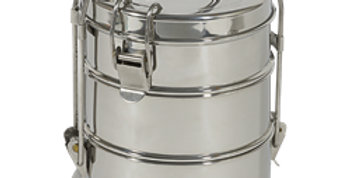 To-Go Ware 3 Tier Stainless Steel Food Carrier