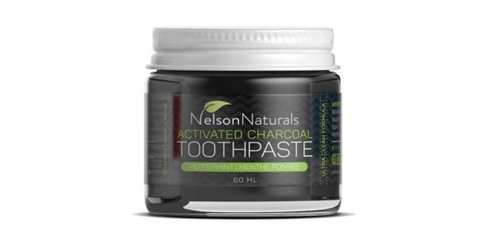 Nelson Naturals Activated Charcoal Whitening Toothpaste