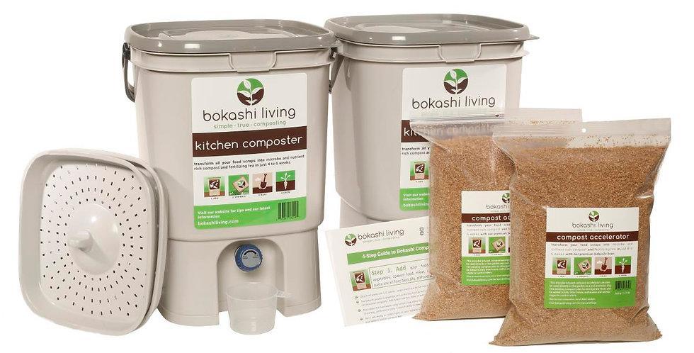 Bokashi Living Starter Kit