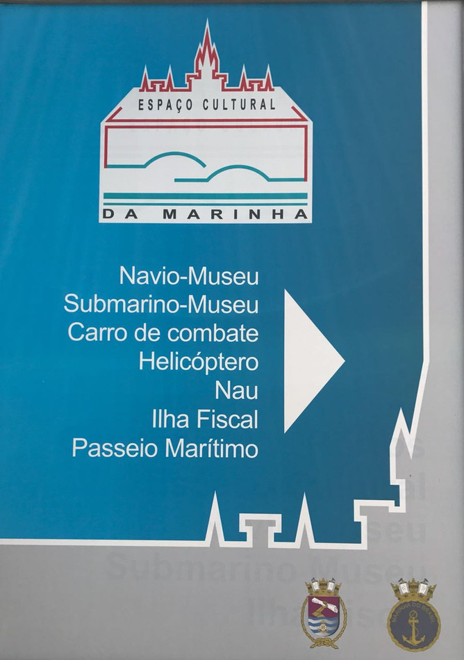 Passeios de barco oferecido pela Capitania dos Portos do Rio de Janeiro.