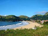 Praia da Garacuraia em Angra dos Reis no RJ.