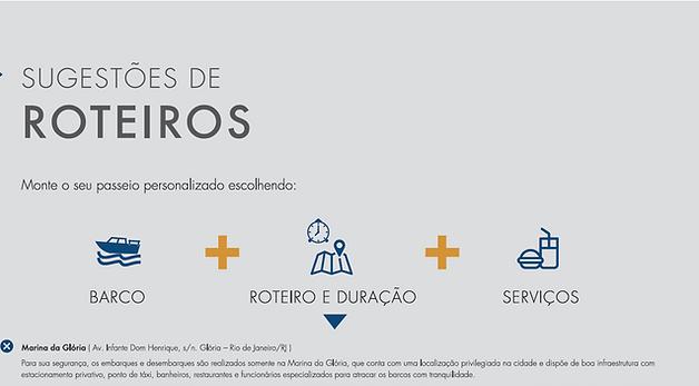 Sugestão de roteiros para passeio de barco no Rio de Janeiro