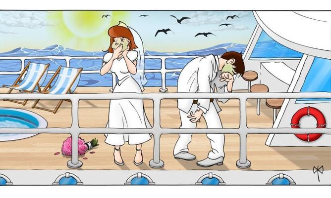 Dicas para não ficar enjoado em passeios de barco