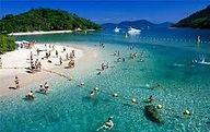 Ilha da Gipóia em Angra dos Reis no RJ.