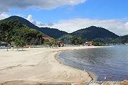 Praia do Anil em Angra dos Reis no RJ.