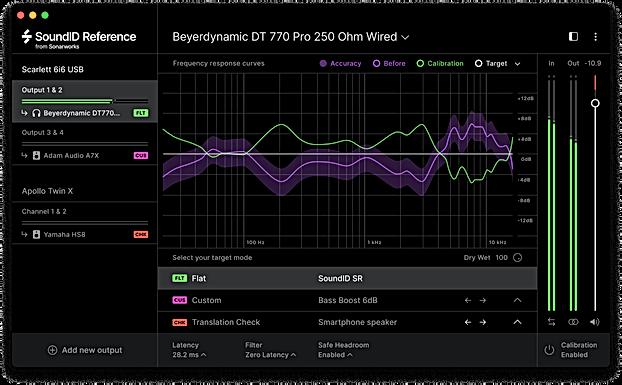 Sonarworks SoundID Ref Speakers & Headphones