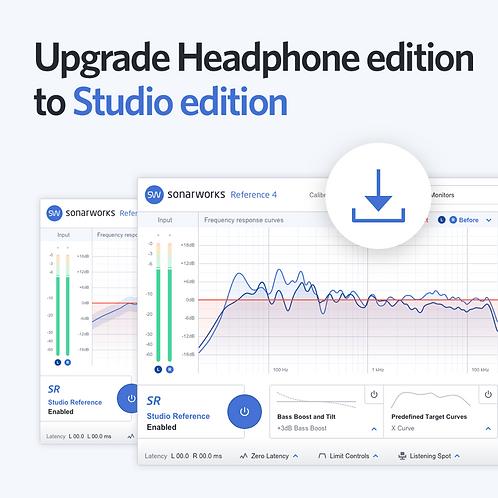 Upgrade Headphone to Studio Edição Download
