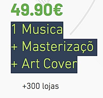 1 Musica Distribuição + Mastering + Art Cover