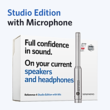 Reference 4 Studio edition with mic retail box