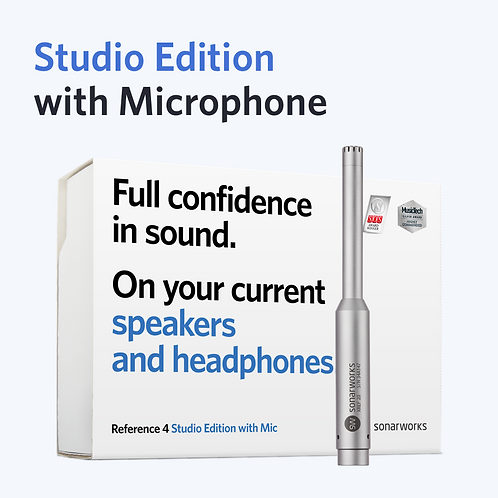 Reference 4 Studio edition with mic