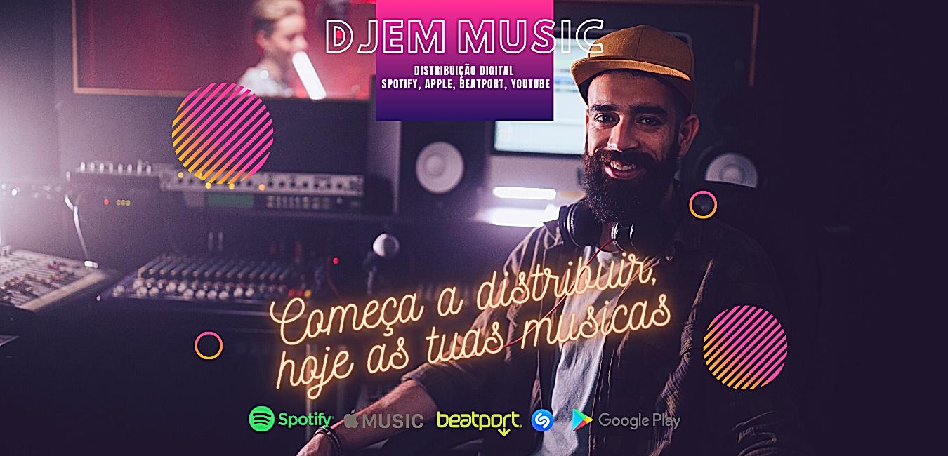 DJEM MUSIC Distribuição Digital 2 webs