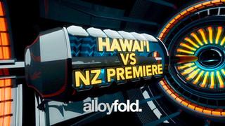 Hawai'i VS NZ Premiere - New Zealand International Basketball Tours