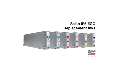 Seiko M64s 104s IP6 1L Ink Cartridges SET (IP6-10 Series)