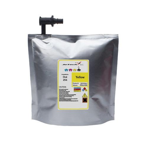 OCE Arizona 318GL 800ml compatible UV ink bag Yellow jetechink
