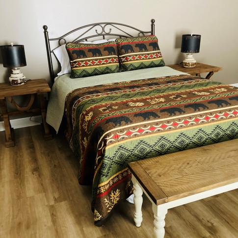 Queen guest room - upper level