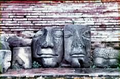 Budda Faces, Ayutthaya.