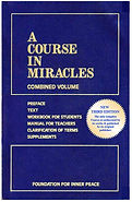 A Course in Miracles   Introduction   This is a course in miracles. It is a required course. Only the time you take it is voluntary. Free will does not mean that you can establish the curriculum. It means only that you can elect what you want to take at a given time. The course does not aim at teaching the meaning of love, for that is beyond what can be taught. It does aim, however, at removing the blocks to the awareness of love's presence, which is your natural inheritance. The opposite of love is fear, but what is all-encompassing can have no opposite. This course can therefore be summed up very simply in this way:  Nothing real can be threatened. Nothing unreal exists. Herein lies the peace of God.