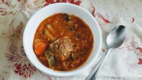 Albondiga Soup (Mexican Meatball Soup)