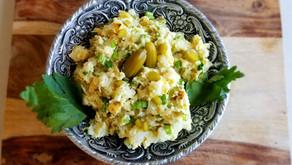 Persian Potato Salad (Vegan)