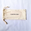 Thumbnail: 100% Unbleached Cotton Canvas Bag With Drawstring