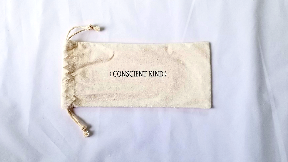100% Unbleached Cotton Canvas Bag With Drawstring