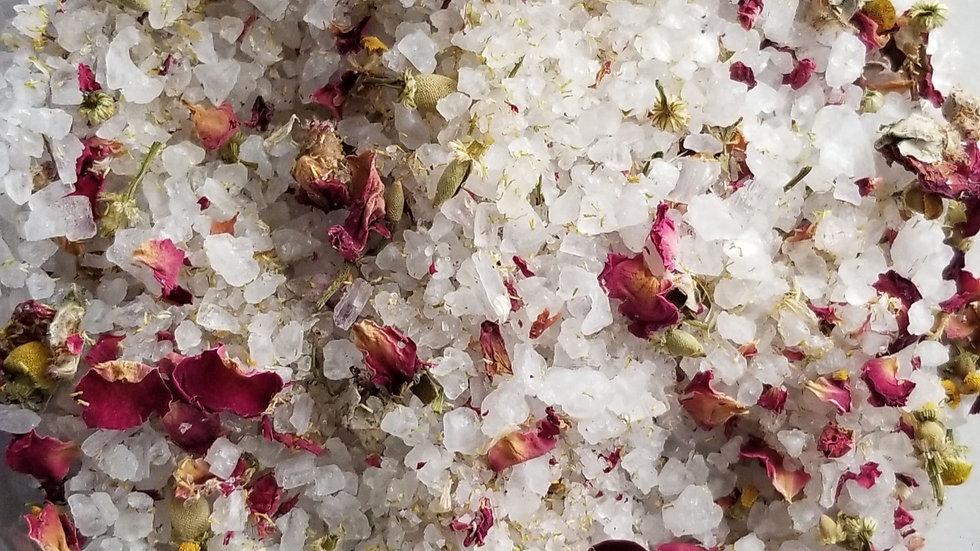 Ease: Epsom Salt Floral Bath Tea
