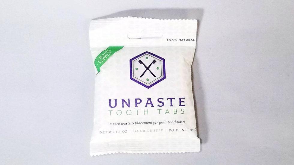 Unpaste Zero Waste Dental Cleaning Tablets