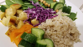 Healthy Vegan Buddha Plate