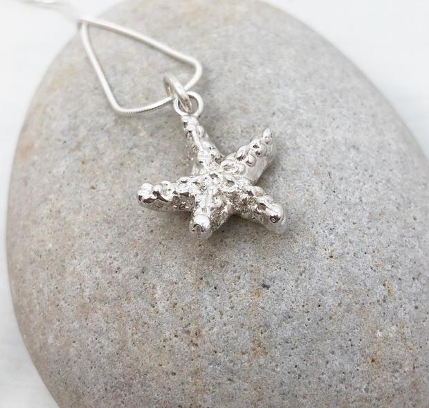 Large starfish pendant