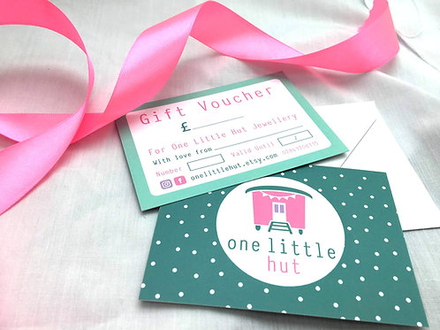 Gift voucher - From £15