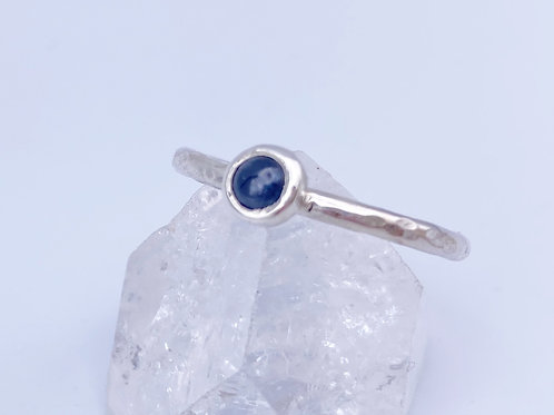 September birthstone stacking ring - Sapphire