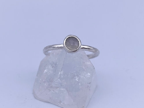 June birthstone stacking ring- Moonstone