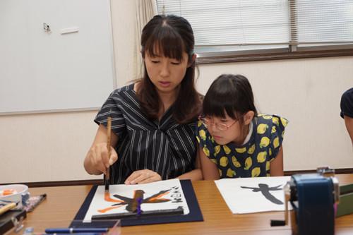 10月墨庵Kids説明会~書道教室・習字教室を開く~