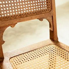 Stuhl mit Jonc-Geflecht