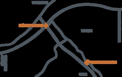 Arbeitsheim Wangen - Anfahrtsplan